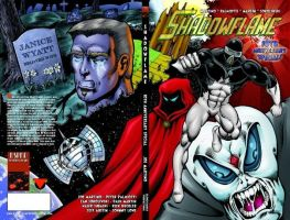 Shadowflame Wrap-a-round cover by PeterPalmiotti