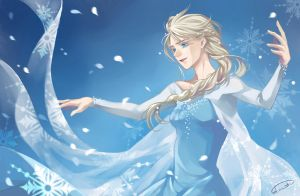 Elsa by Bloody-Pidan