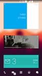 Flat'ish on Android (Zooper Pro) by evertonstz