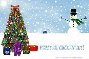 Have a Cool Yule by celticpath