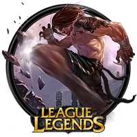 League of Legends 'Traditional Lee Sin' Dock Icon by OutlawNinja