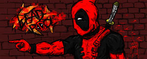 Deadpool wallpaper by AsianInsomniac