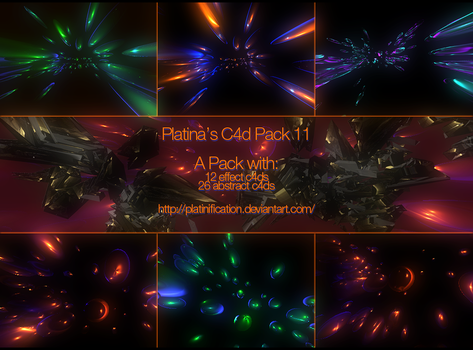 C4d Pack 11 by Platina by Platinification