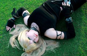 Misa Amane- Outdoor Nap by evaliation