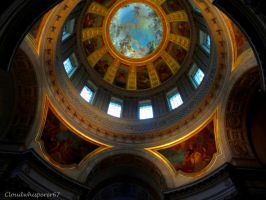 Under Napoleon's Eye - Dome of the Invalides PARIS by Cloudwhisperer67