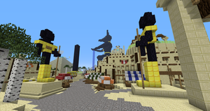 Minecraft:  Fesh'knet city centries by Sherio88
