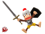 Ape Quest Protagonist || Ape Escape by JA-Renders