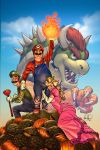SUPER MARIO by deffectx