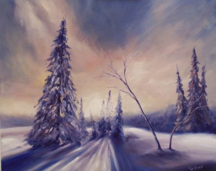 Winter by mp2015