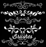 Brushes | Ornaments | Photoshop ABR by Yahi-m