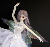 BJD Soom Fairy custom opal doll eyes by ersaflora