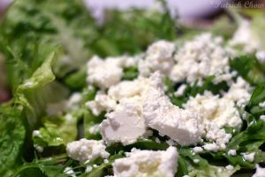 Feta on salad by patchow