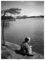 Little Fisher by Pajunen