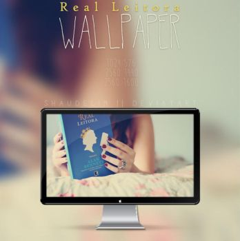 Real Leitora - Wallpaper by coral-m