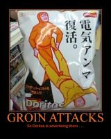 Doritos Groin Attack Adversiting by Onikage108