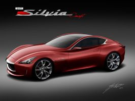 Nissan Silvia S16 Concept by wingsofwar