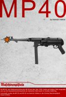 MP40 Poster by vortigauntdpr