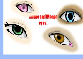 Anime and Manga eye's by Jempower