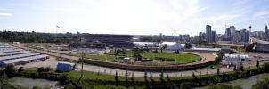 Calgray Stampede Grounds Pano by lonnietaylor