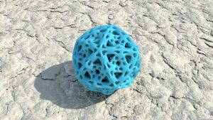 Icosahedron by Mathness