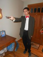 My Eleventh Doctor Costume by SnowyZo3