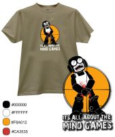 Tank man T-shirt by masterfury