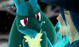 pokemon lucario and the mystery of mew by SadowWolfKACT