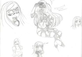 empowered sketches by kianna713x