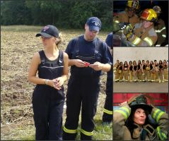 Female Firefighters -- Collage #9 by MosbyRedux