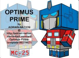 Optimus Prime CC by Viper005