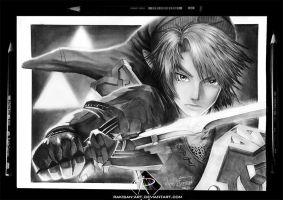 Link fan art - Pencil by Rakisan-Art