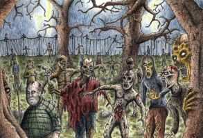 Zombies by Jeden