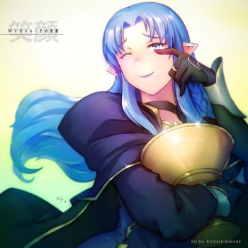 Medea no egao by r-chie