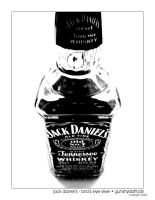 Jack Daniels - Bird's-Eye by gunshydaffodil
