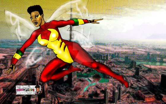 African American Version of The Wasp by WestIndianRockr