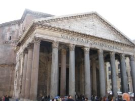 The Pantheon by frisbystock