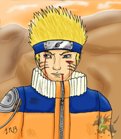 Battle Worn-Naruto by DairuAnubis