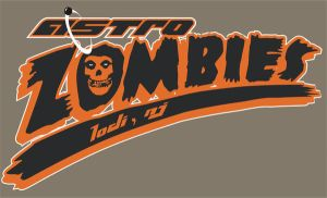 astro zombies baseball by Borunda