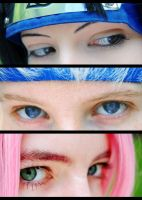 Team 7 - Eyes by UshiromiyaJessica