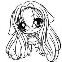 Another Chibi sketch by EndlessBlueSky