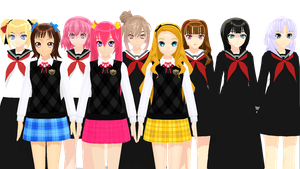 Dummy School girls - Download - by kaahgome