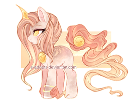 {OTA - Closed} Golden Solutai Pony Adopt by S-Adopts