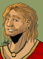 Handsome Varric by Mabiruna