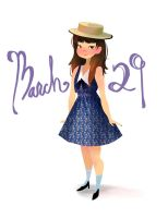 March 29 by victoriaying