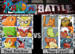 Team Ketchum vs Team Canelli - 6 VS 6!! by Chu4eon