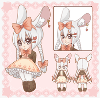 Bunny Girl - Full Ref [CLOSED] by XAngelFeatherX