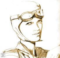 amelia earhart by BLUEHAWK-55