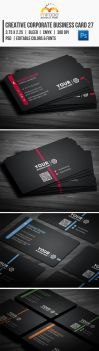 Creative Corporate Business Card 27 by EgYpToS