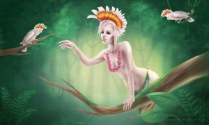 Forest Nymphs by HelenKei