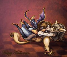 October Couple by Gothic-Inc